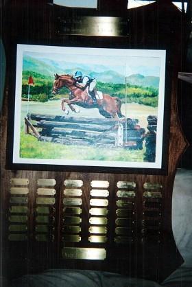 Area IX Young Rider Sportsmanship Trophy