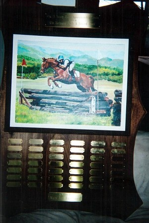 Area IX Young Rider Sportsmanship Trophy
