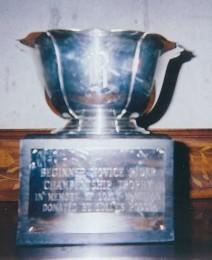 Champion Beg. Novice Trophy
