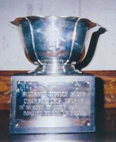Champion Beg. Novice Trophy