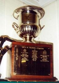 Champion Training Horse Trophy