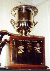 Champion Training Horse Trophy