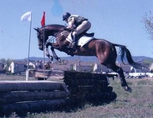 Lynn Klisavage XC over table Spring Gulch